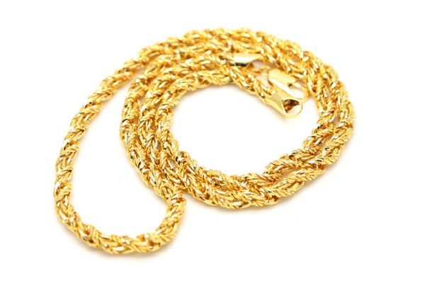 New hot sale mens 7mm wide 30 fancy twist rope chain necklace hip new hot sale mens 7mm wide 30 fancy twist rope chain necklace hip hop fashion mens jewelry long thick hip hop necklace aloadofball Choice Image
