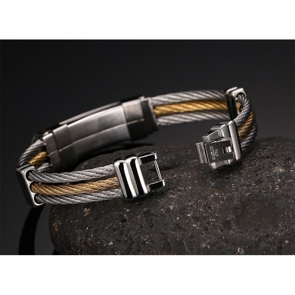 XUANPAI-Mens-Stainless-Steel-Cross-ID-Bracelet-Bangle-Two-Tone-Cable-Rope-Twist-Chain-Gold-and-2.jpg